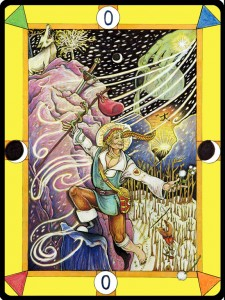 Fledgling Before the Plunge, Tarot D