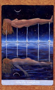 Ten of Swords, Tarot de St. Croix