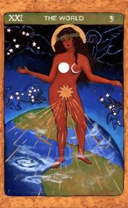 The World, Tarot de St. Croix
