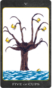 Five of Cups, Tarot House