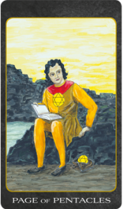 Page of Pentacles, Tarot House