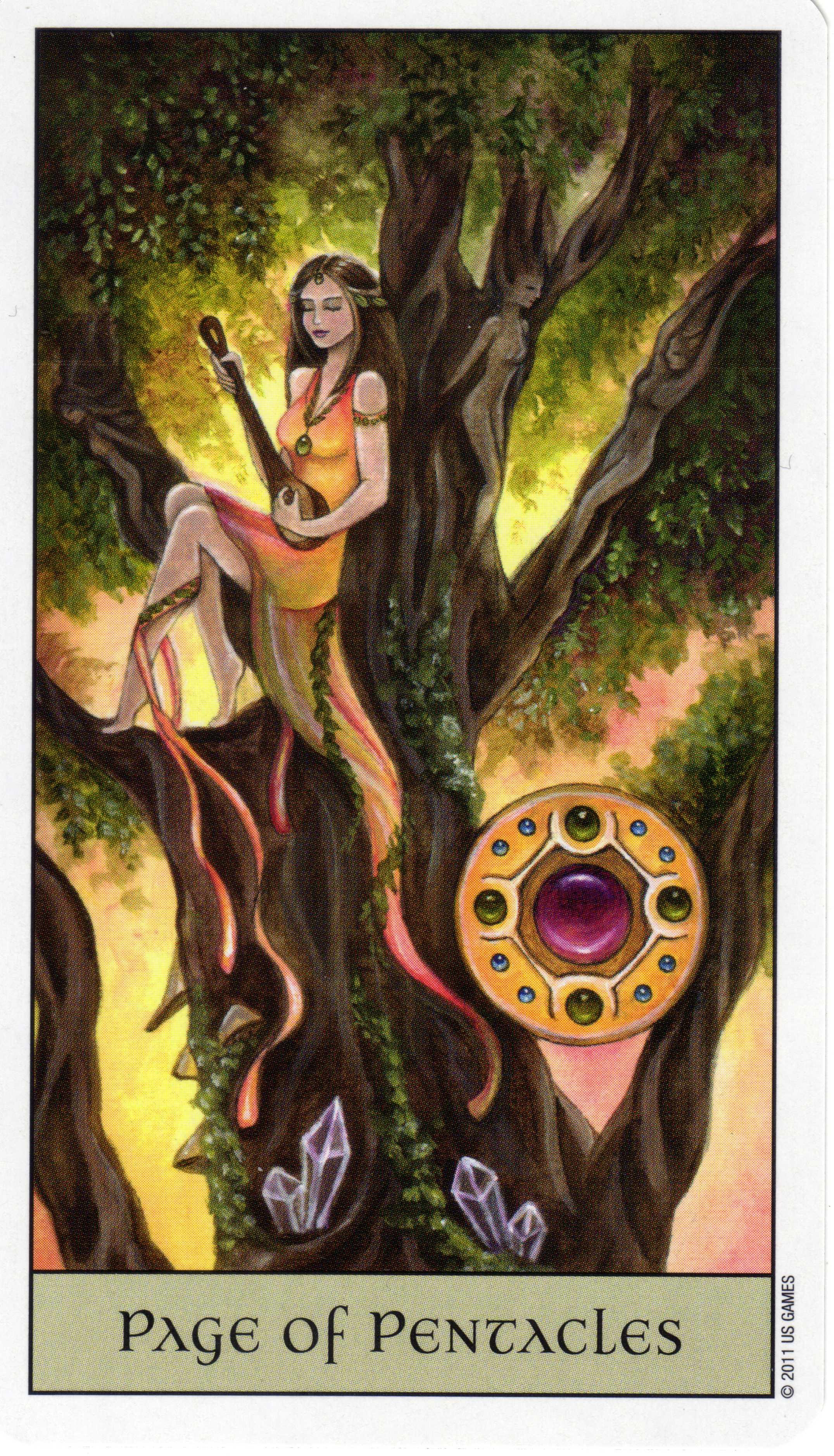 Tarot Of The Legendary: The Crystal Visions Tarot