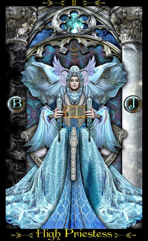 The High Priestess | The Tarot - 218.6KB