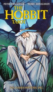 The Hobbit Tarot - Cover art